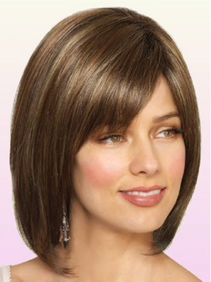 Longer Codi Hand-Tied Bob Straight Wig