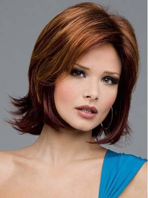 Shoulder Length Layered Bob Wig