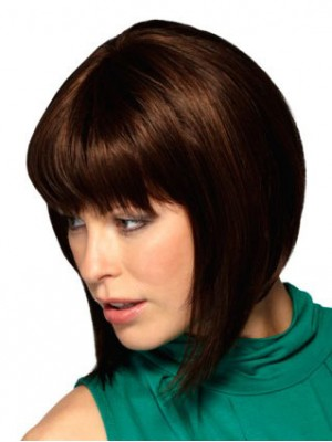 Synthetic Capless Bob Wig