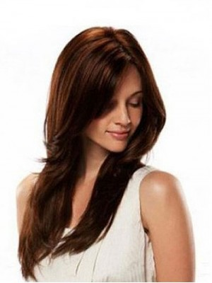Human Hair Straight Lace Wig For Woman