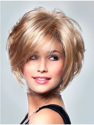 """Curly 8"""" Synthetic Blonde Lace Wigs"""
