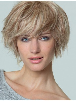 Ideal Straight 100% Hand-tied Short Wigs