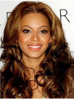 """No-fuss 22"""" Without Bangs Lace Front Beyonce Wigs"""