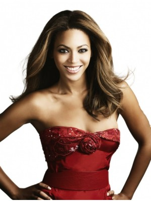 "Ideal 18"" Without Bangs Lace Front Beyonce Wigs"