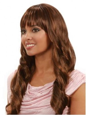 Long Capless 3/4 Wig