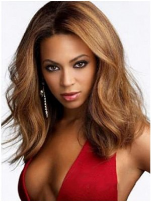 Beyonce Natural Wavy Lace Front Wigs for Sale