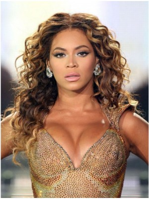 Beyonce Curly Hairstyle Lace Front Wig