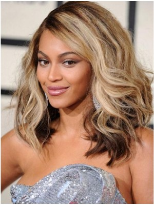 Beyonce Shoulder Length Ombre Lace Front Wigs