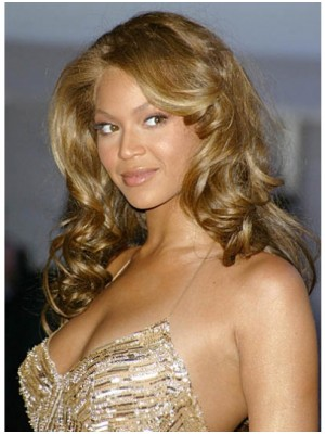Beyonce Blonde Body Wavy Human Hair Full Lace Wig