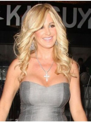 Best With Bangs Curly Kim Zolciak Wigs
