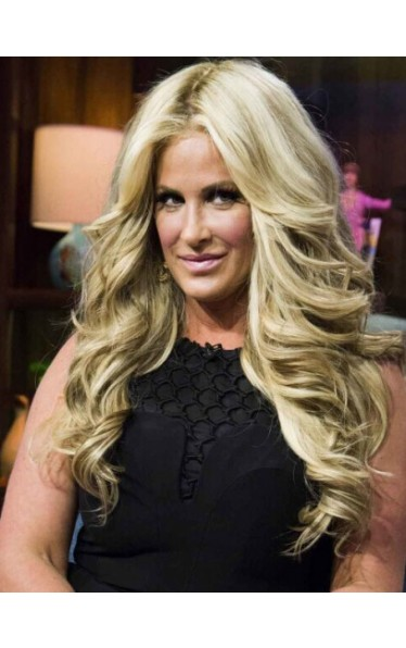 Hairstyles Without Bangs Curly Kim Zolciak Wigs