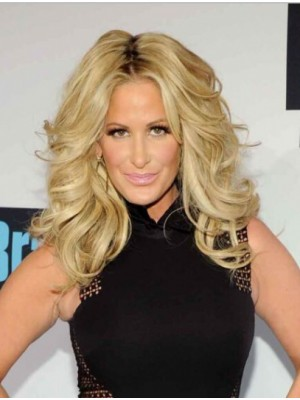Soft Without Bangs Curly Kim Zolciak Wigs