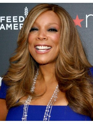 Long Wavy Wendy Williams Wigs African American Synthetic Wig
