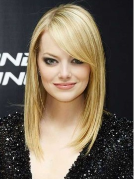 Emma Stone Lace Front Human Hair Wig