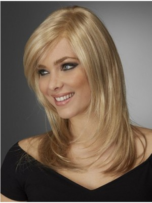 "14"" Capless Straight Synthetic Wigs"