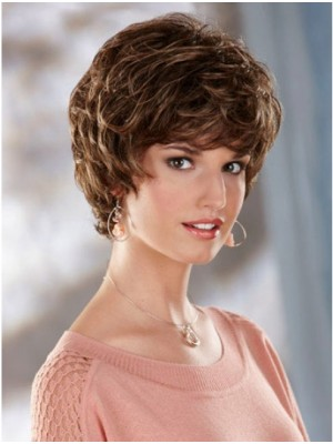 Cheapest Short Wavy Synthetic Wigs