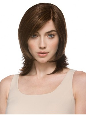 Layered Wavy Shoulder Length Wigs