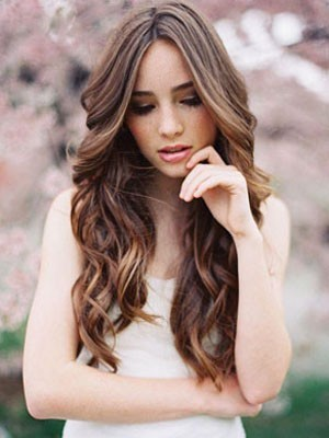 Wavy Human Hair Superb Lace Front Wig