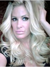 Incredible Long Blonde Kim Zolciak