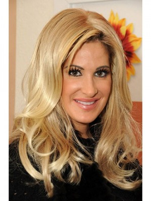 Fabulous Blonde Wavy Long Kim Zolciak Wigs
