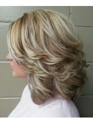 Popular Medium Hairstyles with Layers For Women